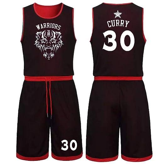NBALL-HU Golden State Warriors # 30 Curry Baloncesto Jersey Malla ...