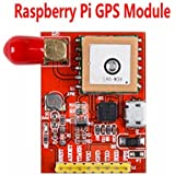 Raspberry Pi GPS Module. Support Raspberry Pi Model A, B, A+, B+, Zero, 2, 3 with its' L80-39 GPS chip inside. Communicates Satellite with UART or USB.