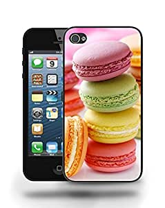 Retro Vintage Fun Colorful Sweet Macaroon Cookie Phone Case Cover Designs for iPhone 5 5S by ruishername