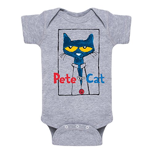 Price comparison product image Pete the Cat Frame With Button -Infant One Piece-6M