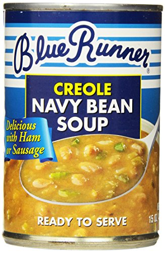 Navy Bean Soup (Blue Runner Creole Style Bean Soup, 15 Ounce (Pack of 12))