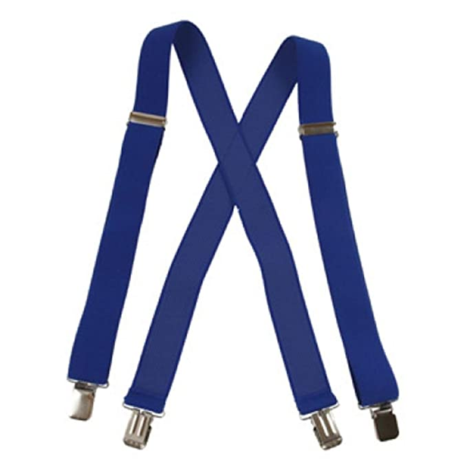 Amazon.com: Suspender Factory Jumbo Clip tirantes (1.5 inch ...
