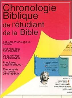 Chronologie Biblique de l'Etudiant de David F Payne (1 janvier 2010) Broché