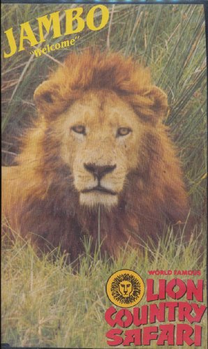"VHS - Lion Country Safari Souvenir Video - Jambo ""Welcome"""