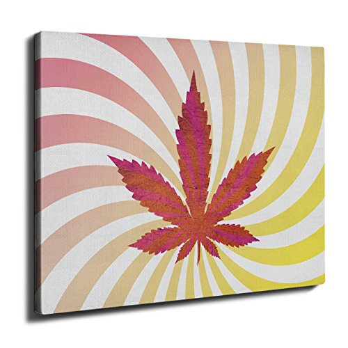 Weed 420 Pot Rasta Marijuana Wall Art Canvas 16