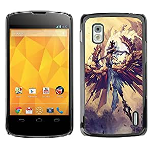 Hot Style Cell Phone PC Hard Case Cover // M00101053 art fantasy // LG Nexus 4