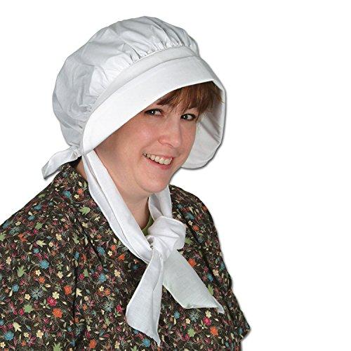 [Pilgrim Bonnet Party Accessory (1 count) (1/Pkg)] (Amish Hats)