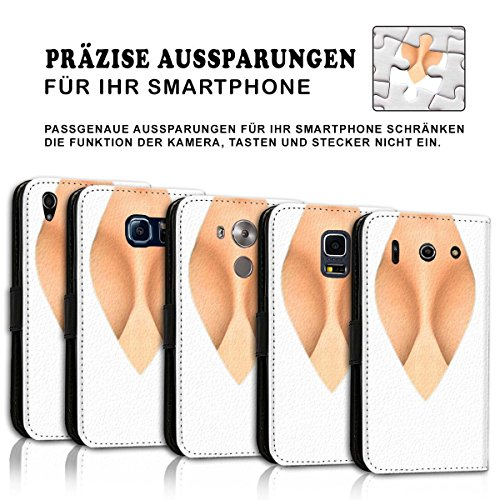 Wallet Book Style Flip Handy Tasche Case Schutz Hülle Schale Motiv Etui für Apple iPhone 5 / 5S - Design Flip MV136