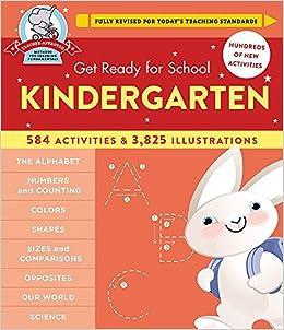 Is Your Child Ready For Kindergarten >> Get Ready For School Kindergarten Heather Stella 9780316352253