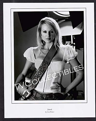 - 8x10 Photo~ Singer Jewel ~Headshot Pose