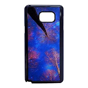 Samsung Galaxy Note 5 Phone Case With Star Trees Pattern