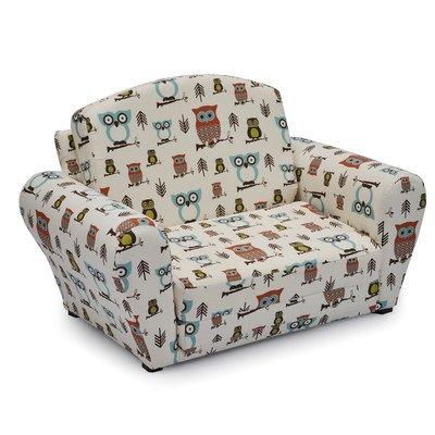 Hooty Village Kids Sleeper Sleeper Upholstered Sofa