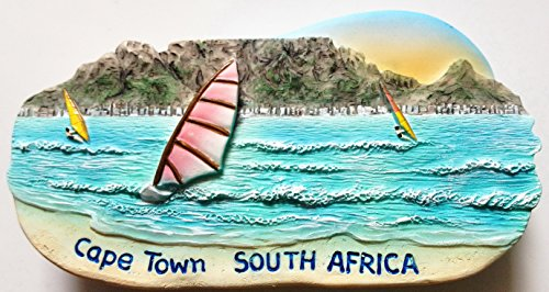 Table Mountain Cape Town SOUTH AFRICA High Quality Resin 3D fridge Refrigerator Thai Magnet Hand Made Craft.