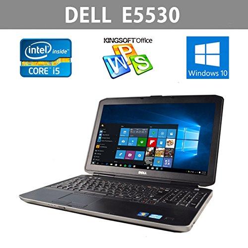 中古ノートパソコン 10キー 最新Windows10   DELL E5530 大画面15.6型ワイド 第3世代 Corei5 2.6GHz メモリ4GB HDD320GB Office   B075TGGTTY