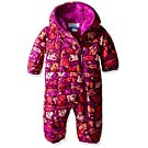 Columbia Baby Girls' Frosty Freeze Bunting, Bright Plum Critter, 6-12 Months