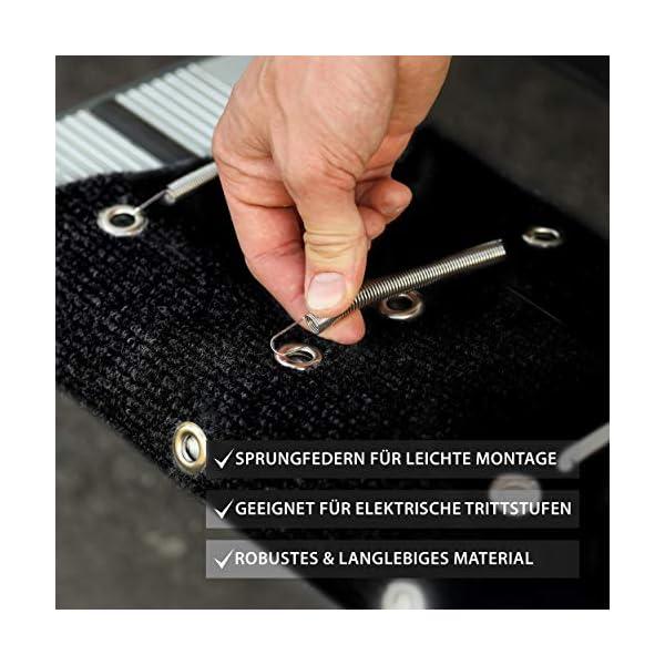 5135c6M9nEL FAIRMO Wohnmobil Trittstufen Fußmatte - Premium Teppich - Zubehör individuell passend - Clean Step Wohnwagen - Camping…
