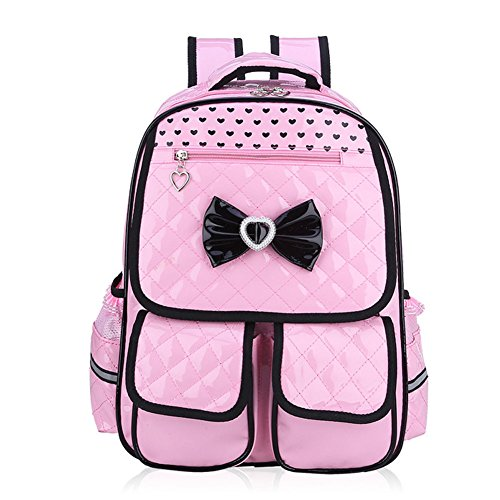 Abshoo Child School Bookbag Cute Kids School Backpacks for Girls (Pink)