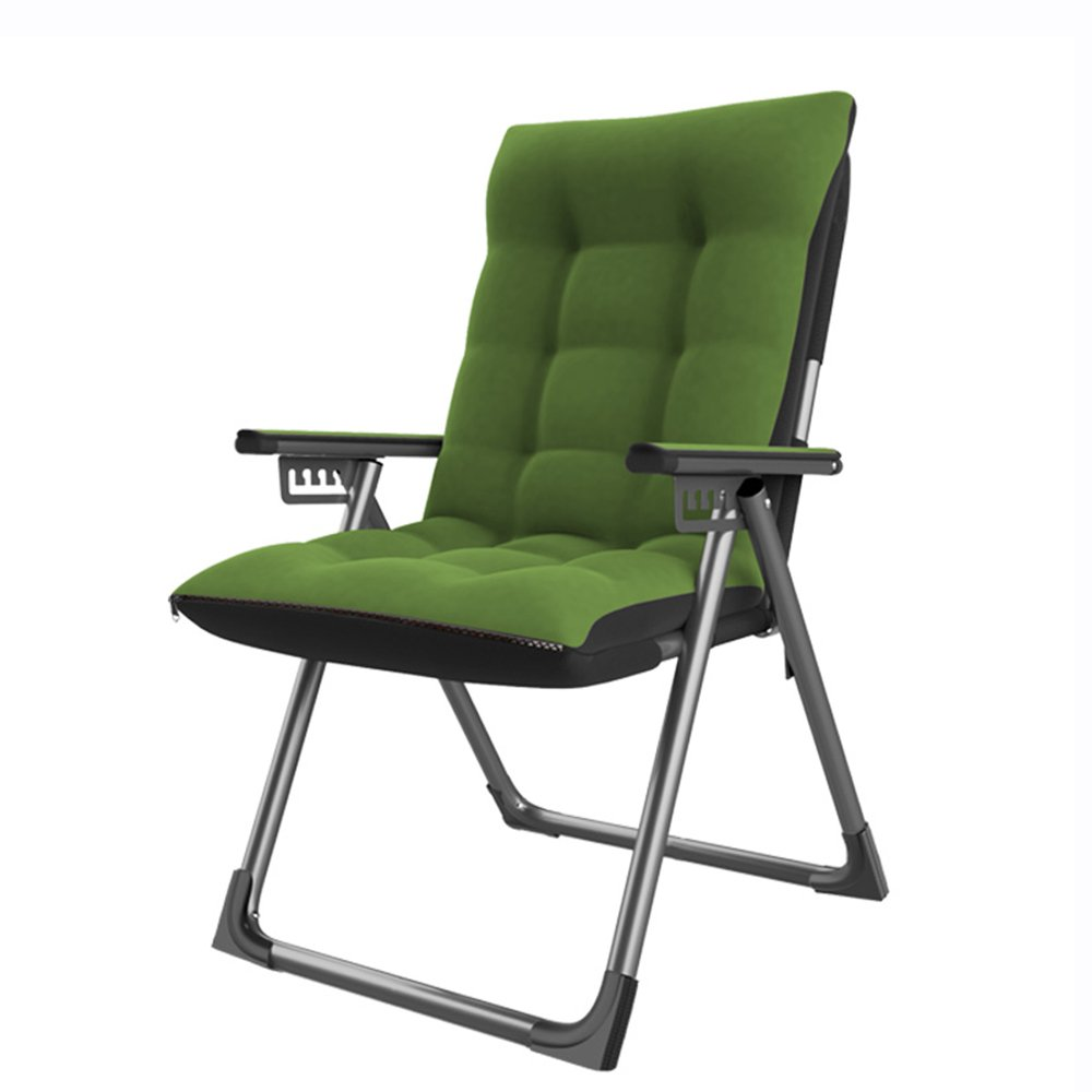 QFFL 家庭用ベッドルーム背もたれ椅子/個別ソファ折り畳み式ラウンジチェア/シンプルスチューデントコンピュータチェア/オフィス省スペースランチブレイクリクライナー アウトドアスツール (色 : A) B07F377FF3 A A