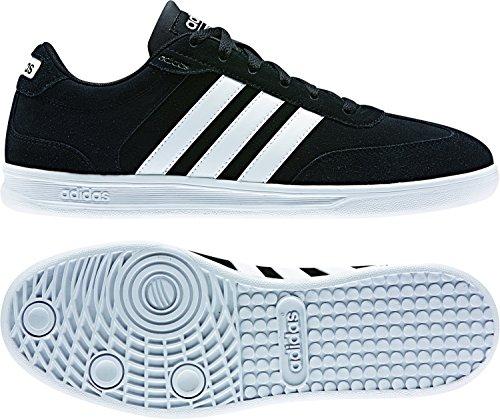 adidas CROSS COURT - Zapatillas deportivas para Hombre, Negro - (NEGBAS/FTWBLA/FTWBLA) 47 1/3