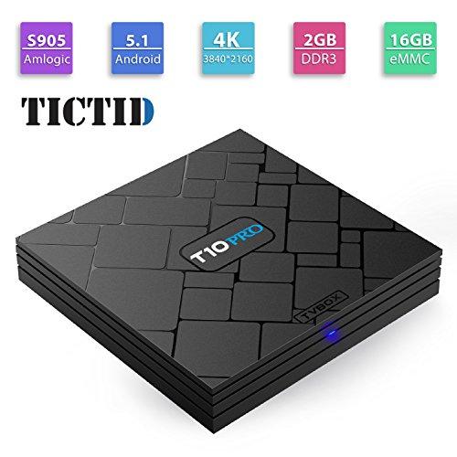 TICTID S905X BOX T10 PRO product image