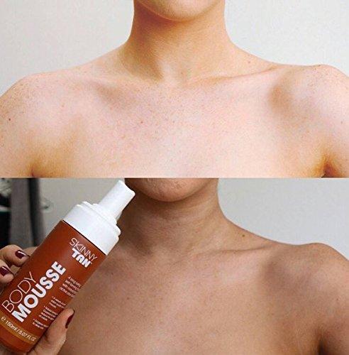 Skinny Tan Mousse - No Orange, No Streak Lotion All Skin Types