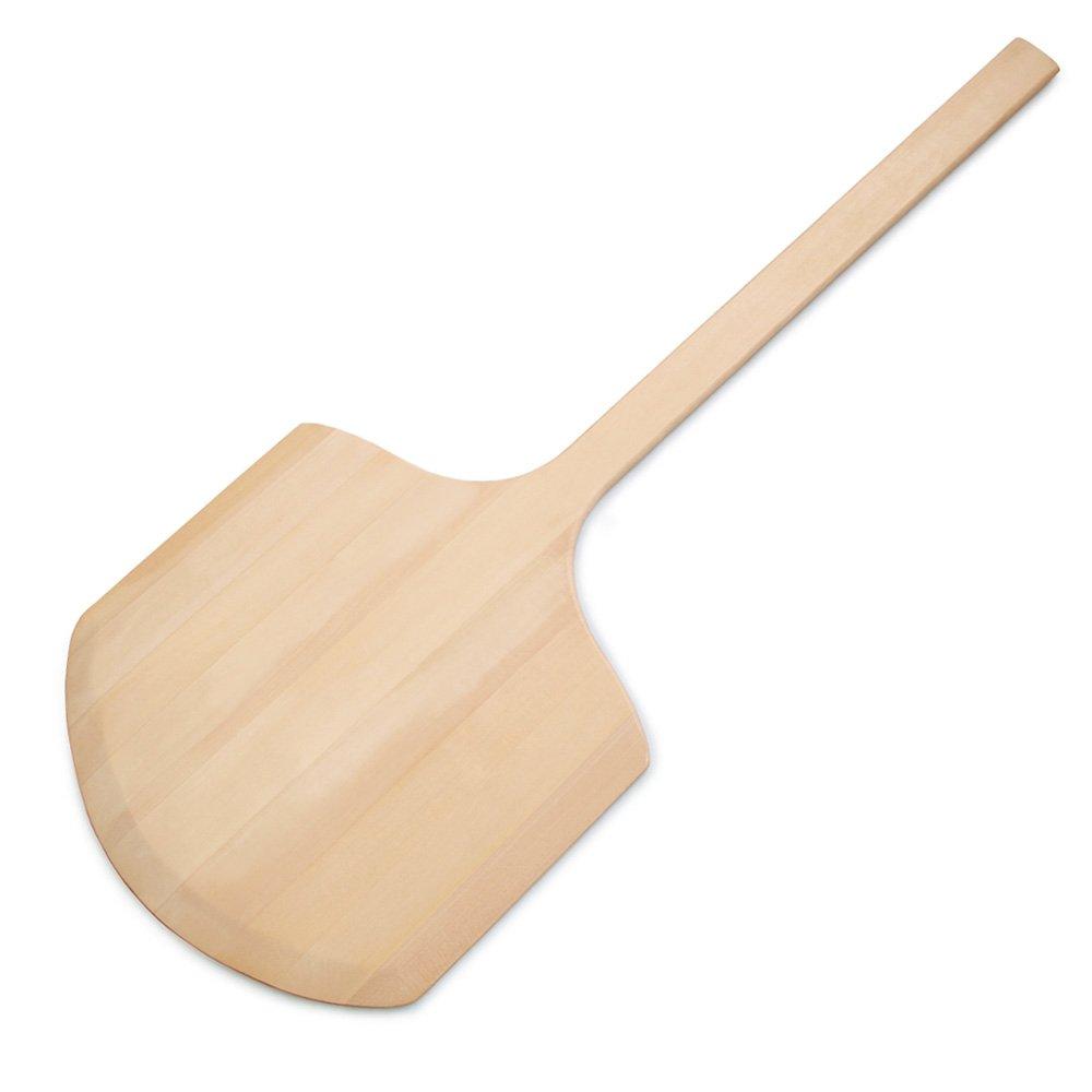 "New Star Foodservice Inc. 50288 Wooden Pizza Peel 14"" x 14"" x 36"" Wood"