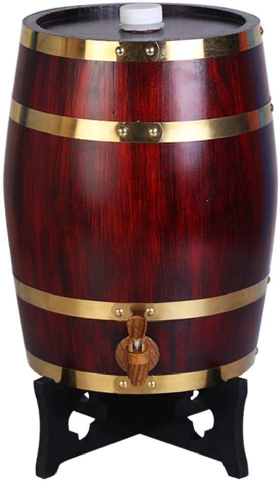 LJX-marryjgo 木樽、ワイン、装飾樽、白樽、ビール樽、オーク樽、風合い、天然物、高級ワイン (容量 : 30L, 色 : F3)