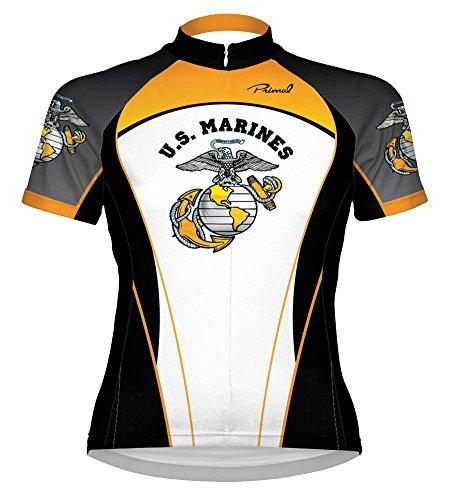 Primal Wear Women's U.S. Marines Liberty Cycling Jersey, Multi, X-Small (Primal Wear Marines)
