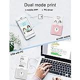 Aibecy Mini Photo Printer, Wireless Thermal