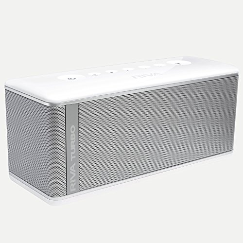 RIVA TURBO X RTX01S Premium Wireless Bluetooth Speaker (White) by RIVA