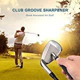 Golf Club Groove Sharpener, Re-Grooving Tool and