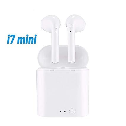 i7 Mini - Auriculares Bluetooth con Estuche de Carga