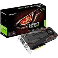 Gigabyte GeForce GTX 1080 DirectX 12 8GB 256-Bit GDDR5X PCI Express 3.0 x16 SLI Support ATX Turbo OC Video Card + $50 Newegg Gift Card