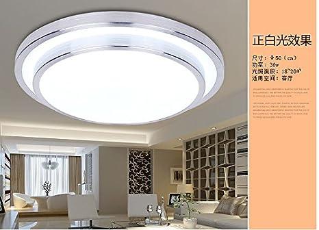 Moderne Lampen 66 : Led deckenleuchte runde schlafzimmer lampe einfache moderne