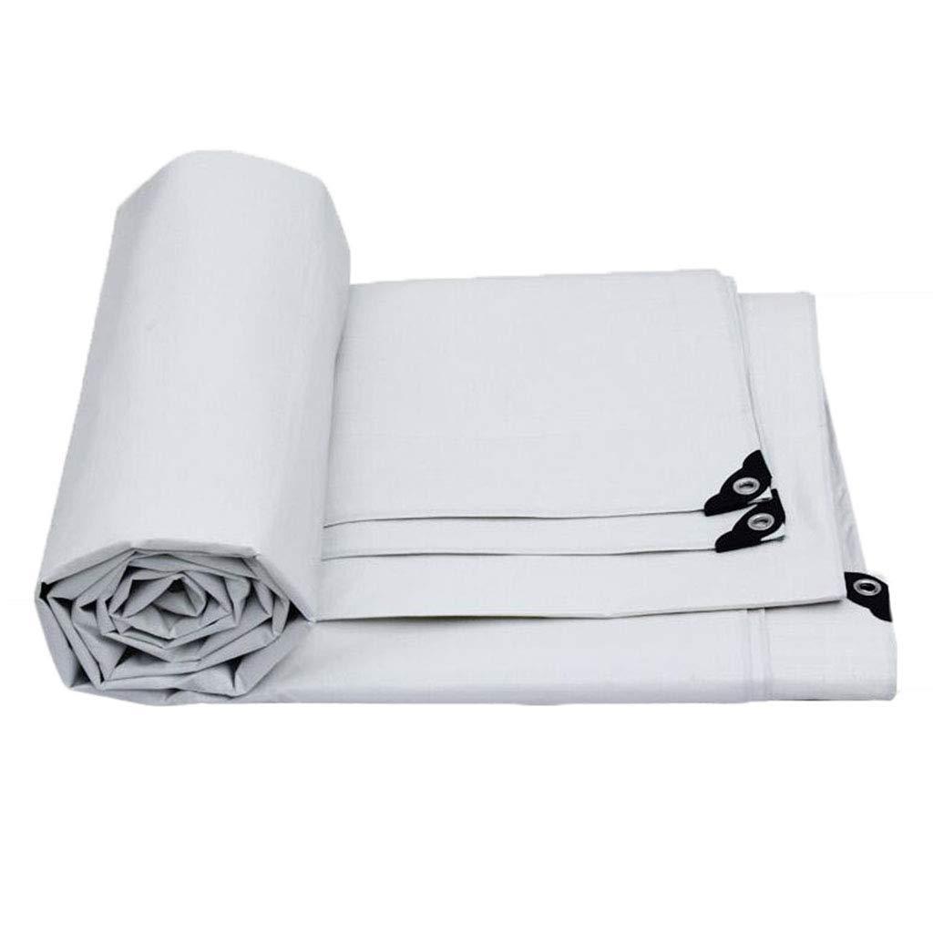 7x5m LIAN BÂche extérieure antipluie, Tissu en Plastique de Prougeection Solaire pour l'épaisseur 0.35mm de Camping extérieur, Taille de 10 (Taille   4x3m)