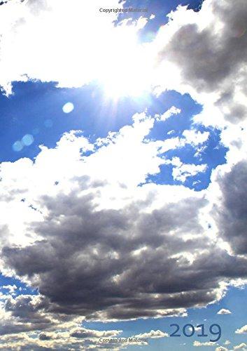 dicker TageBuch Kalender 2019 - HEAVEN (Himmel): Endlich genug Platz für dein Leben! 1 Tag pro DIN A4 Seite