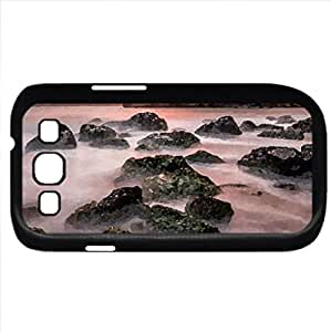 Ocean View (Oceans Series) Watercolor style - Case Cover For Samsung Galaxy S3 i9300 (Black)