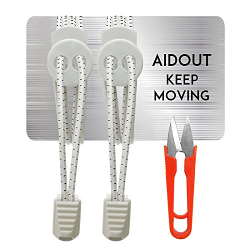 AIDOUT Shoe Laces Reflective Shoelaces