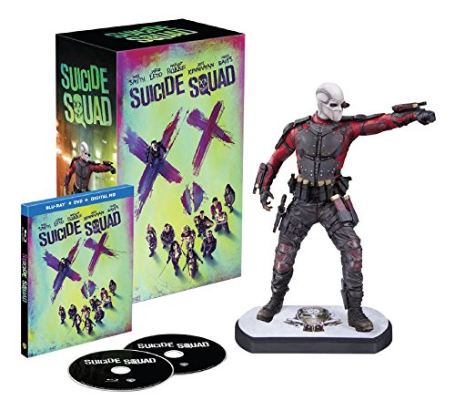 Suicide Squad (Amazon-Exclusive) (Deadshot figurine) (Blu-ray + DVD + UltraViolet Combo Pack)