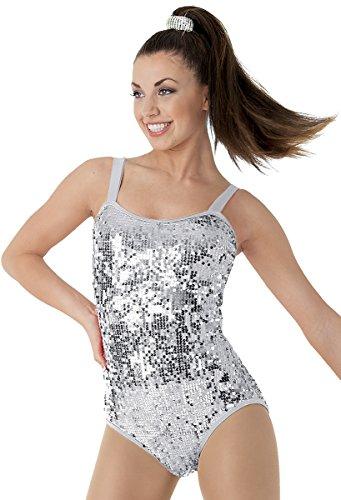 Balera Dance Leotard Ultra Sparkle with Cage Back Straps ()