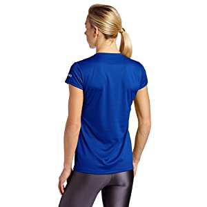 ASICS Women's Circuit 7 Warm-Up Shirt, Royal, Medium