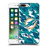 Official NFL Camou Miami Dolphins Logo Hard Back Case for Apple iPhone 7 Plus / 8 Plus