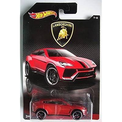 Hot Wheels 2020 Lamborghini Series Lamborghini Urus 7/8, Red: Toys & Games