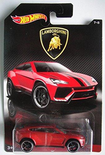 Hot Wheels 2017 Lamborghini Series Lamborghini Urus 7 8  Red