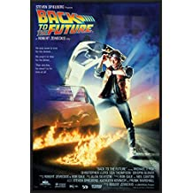 "Back To The Future - Framed Movie Poster / Print (Regular Style) (Size: 27"" x 40"")"