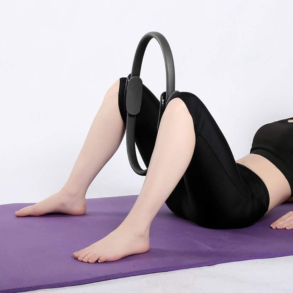 Anillo de Pilates C/írculo M/ágico para Fitnes Aro de Pilates para Entrenamiento Fitness los Muslos Internos y Externos Mejora la Fuerza Flexibilidad y Postura