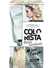 L'Oreal Paris Colorista Bleach All-Over, Ammonia Free Hair Bleach Kit, with Nourishing Hair Formula, 30V Bleaching, Permanent Hair Bleach, 1 EA