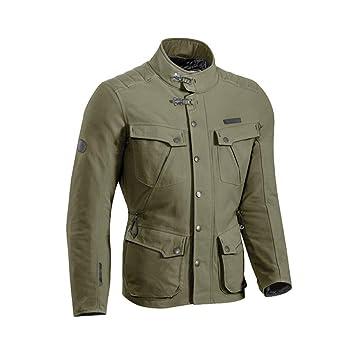 Ixon Exhaust chaqueta moto, caqui, M: Amazon.es: Coche y moto