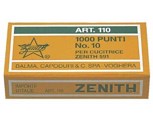 ZENITH boite de 1000 agrafes '110' N° 10 110611