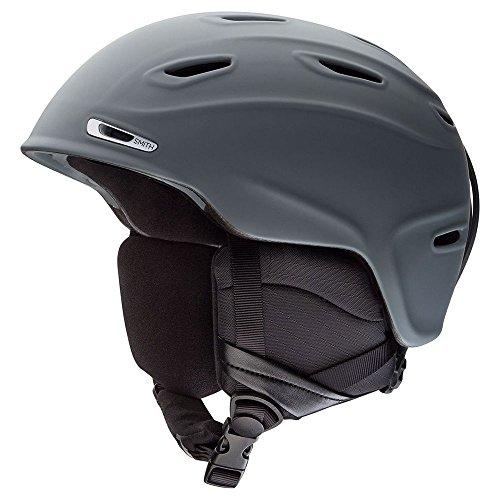 Smith Optics Unisex Adult Aspect Snow Sports Helmet - Matte Charcoal Large - Optic Smiths